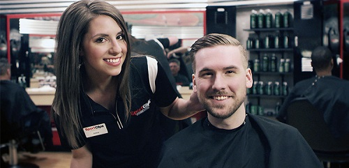Sport Clips Haircuts of Sugar Land - Sweetwater Blvd.​ stylist hair cut